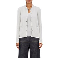 Barneys New York Women's Merino Wool Blend Cardigan Light Grey