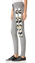Sundry Triangles Skinny Sweatpants Heather Grey