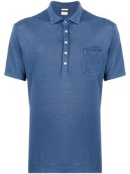 Massimo Alba Linen Short Sleeve Polo Shirt 60