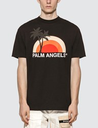 Palm Angels Sunset T Shirt Black