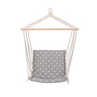 Bloomingville Hammock Chair Grey Dots