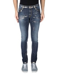 Tom Rebl Denim Pants Blue
