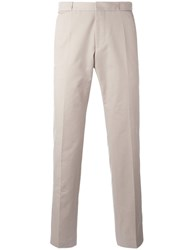 Hugo Boss Plain Chinos Nude Neutrals