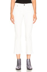 Rta Leather Kiki Pant In White