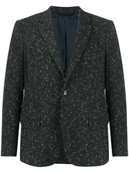 Massimo Piombo Mp Fitted Wool Blazer 60