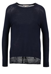 Tom Tailor Denim Jumper Real Navy Blue Dark Blue