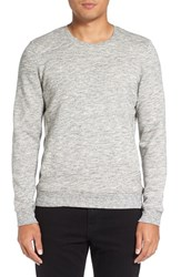 Michael Stars Men's Crewneck Pullover Heather Grey