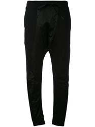 Andrea Ya'aqov Drop Crotch Joggers Women Cotton Polyamide Metal Xs Black