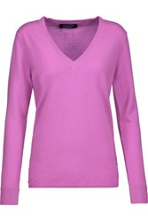 Magaschoni Cashmere Sweater Violet