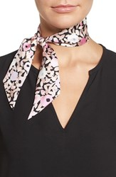 Kate Spade Women's New York Posy Grove Skinny Silk Scarf