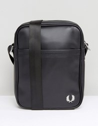 Fred Perry Flight Bag In Pique Black Black