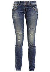 Ltb Molly Slim Fit Jeans Viorica Wash Blue Denim