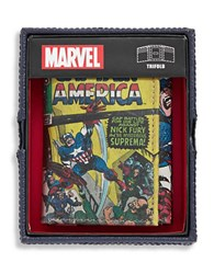 William Rast Captain America Leather Tri Fold Waller