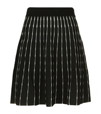 Claudie Pierlot Sonic Knitted Skirt Female Black