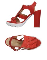 Luca Stefani Sandals Red