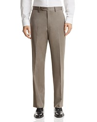 Bloomingdale's The Men's Store At Classic Fit Solid Dress Pants 100 Exclusive Taupe