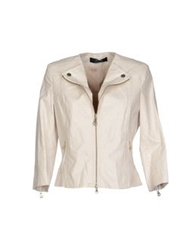 Guess By Marciano Jackets Ivory