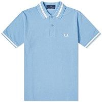 Fred Perry Reissues Original Single Tipped Polo Blue