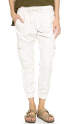 Nsf Johnny Cargo Pants Soft White