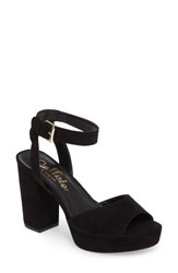 Callisto Women's Jerzy Platform Sandal Black Synthetic
