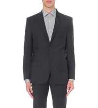 J. Lindeberg J Hopper Slim Fit Wool Jacket Dk Blue Black Grey