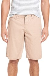 Original Paperbacks Men's 'St. Barts' Raw Edge Shorts Mauve