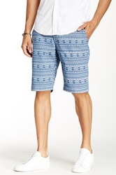 Union Far Out Chino Short Blue