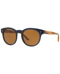 Giorgio Armani Sunglasses Giorgio Armani Ar8055 51 Blue Light Brown