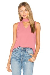 Eight Sixty Sleeveless High Neck Blouse Pink