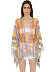 Missoni Zigzag Viscose Knit Shawl
