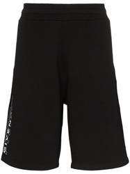 Givenchy Logo Print Track Shorts Black