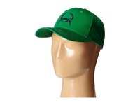 Cinch Low Profile Flat Bill Cap Green Caps
