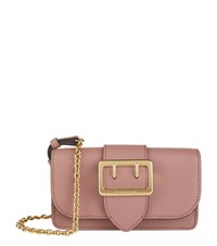 Burberry Shoes And Accessories Mini Buckle Bag With House Check Female Rose