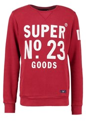 Superdry Heritage Beach Sweatshirt Cardinal Red