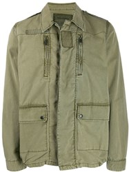 Zadig And Voltaire Lightweight Jacket Green
