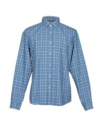 Agho Shirts Blue