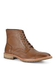 Andrew Marc New York Norwood Leather Lace Up Boots