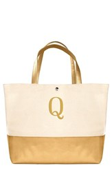Cathy's Concepts Personalized Canvas Tote Yellow Gold Q