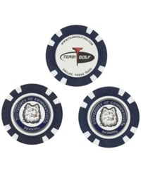 Team Golf Connecticut Huskies 3 Pack Poker Chip Markers Navy