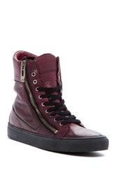 Rogue Suite Lace Up And Zip Boot Red