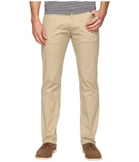 Calvin Klein Slim Fit Sateen Pant Classic Khaki Men's Clothing Pink
