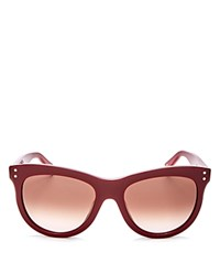 Marc Jacobs Wayfarer Sunglasses 54Mm Burgundy Brown Gradient