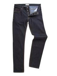 Racing Green Dene Straight Fit Rinse Wash Rigid Jean Denim