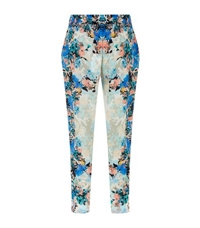 Lily And Lionel Las Dalias Silk Trousers