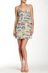 Porridge V Neck Dress Multi