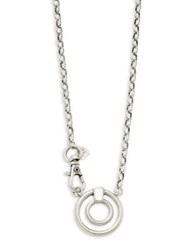 Corinne Mccormack Eye Ring Necklace Silver