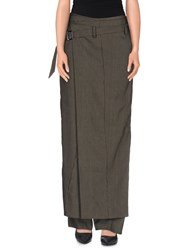 Malloni Trousers Casual Trousers Women Military Green