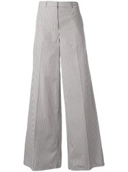 Ports 1961 Flared Panel Trousers Black