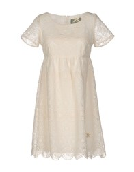 Fixdesign Atelier Short Dresses Ivory