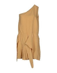 Manila Grace Short Dresses Sand